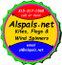 Alspals  Kites, Flags & Windspinners